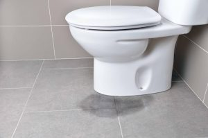 toilet leaking at base