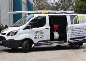 Drain clearing van